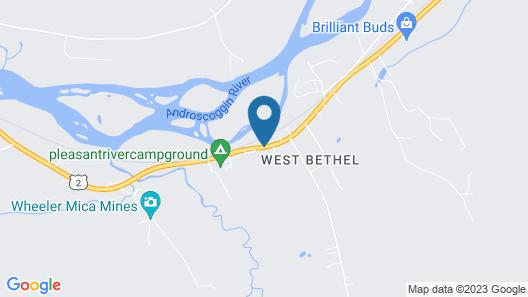 West Bethel Motel Map