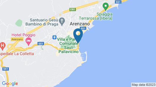 Grand Hotel Arenzano Map