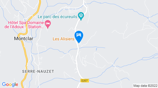 Les Alisiers Map