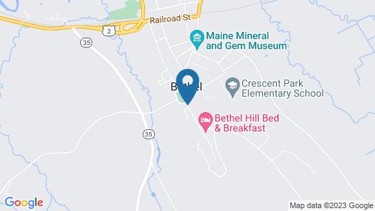 The Bethel Inn Resort Map