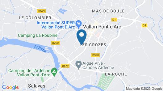 La Maison du Manoir Chambres d'Hôtes Map