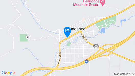 Bear Lodge Motel Map