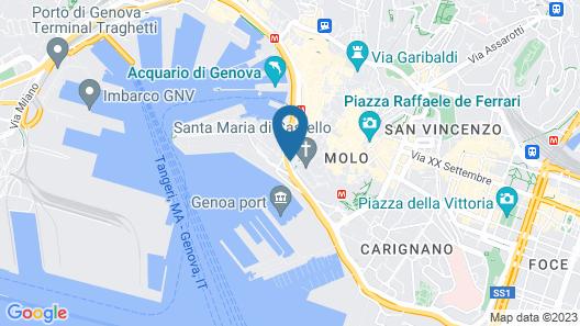 B&B Cavour 16 Map