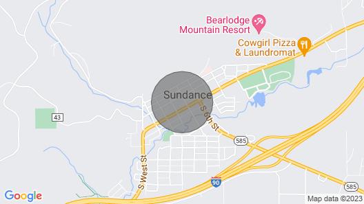 Historic Stay Downtown Sundance Map