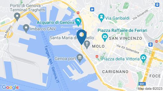 Aquarium Rooms Map