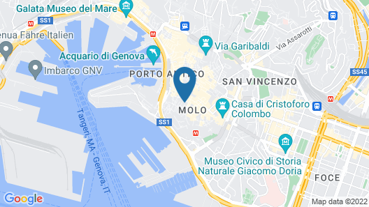 Lussuoso Loft dei Giustiniani Acquario Map
