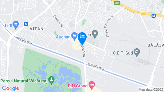 Hotel Funnytime Map
