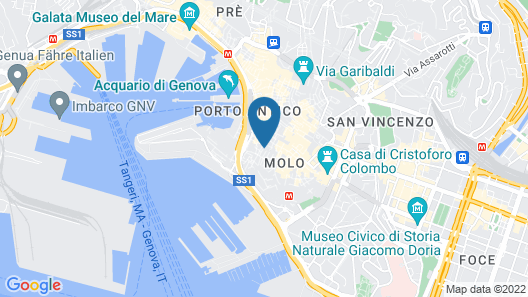 Design in Genoa city center by Wonderful Italy Map