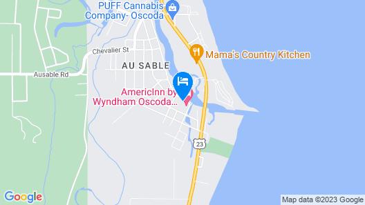 AmericInn by Wyndham Oscoda Near AuSable River Map