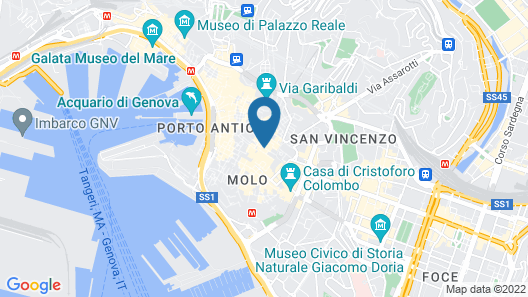 La Piazzetta Rooms Map