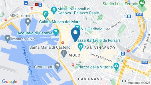 Holiday Apartment in Genova Fieno Map