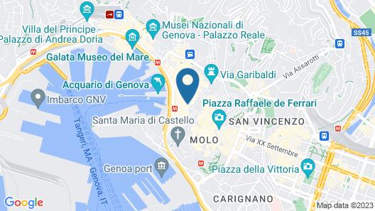 Altido Penthouse next to Acquario Map