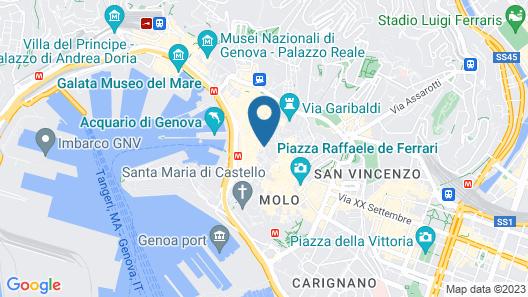 Hotel Palazzo Grillo Map
