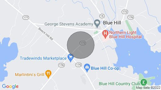 Luxury Apartment in the Heart of Blue Hill Village Map