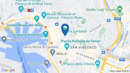 Manena Hostel Genova Map