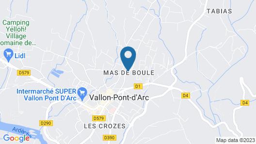 Odalys Residence Les Sources de Manon Map