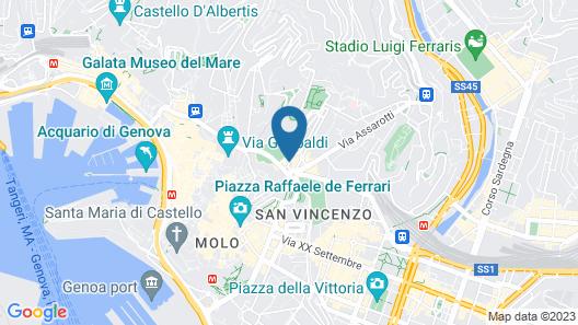 NH Genova Centro Map