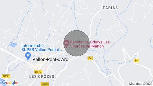 New Villa With Private Pool Vallon Pont D'arc Map