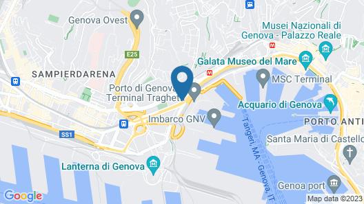 Holiday Inn Genoa City Map