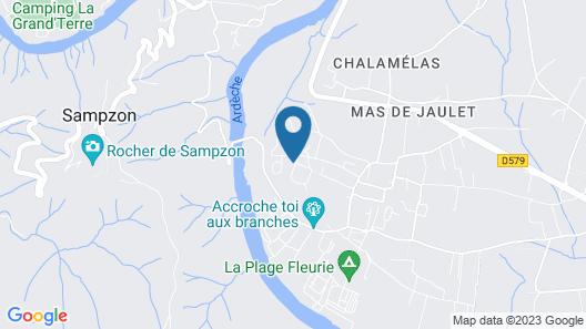 Maison Ardéchoise Map