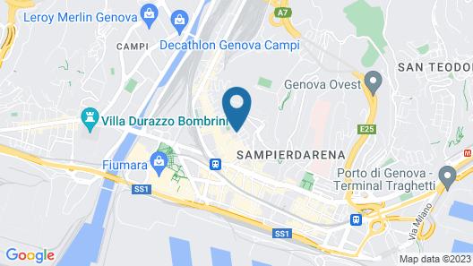 Valeria Apartment Map