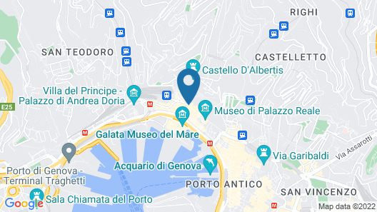 Hotel Nuovo Nord Map