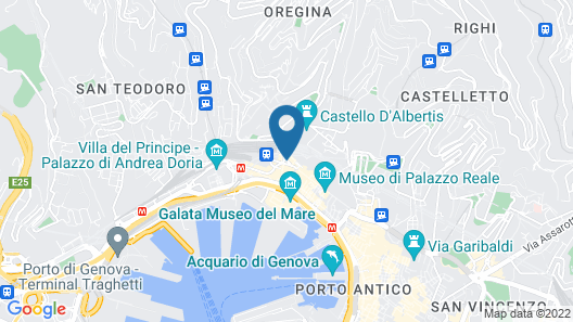 Grand Hotel Savoia Map