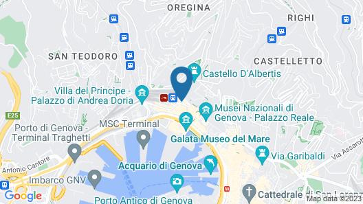 Grand Hotel Savoia Map