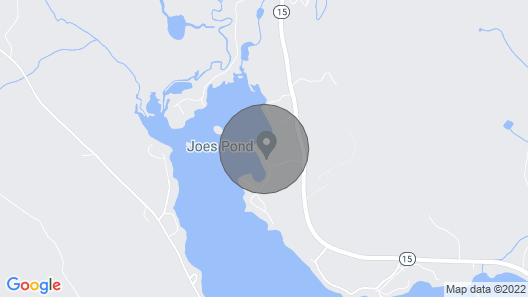Large Water Front Family Friendly Cottage On Historic Joe's Pond Map