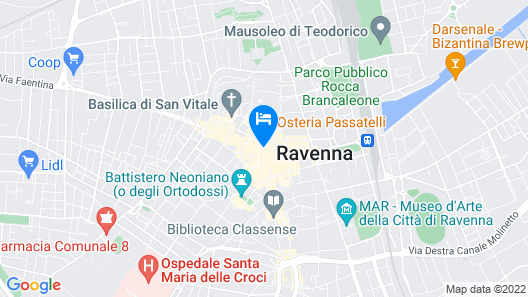 Albergo Cappello Map