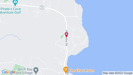 Gallagher's Travels Bar Harbor Motel & Cabins Map