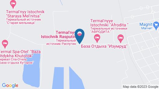 Rasputin Hotel&Spa Map