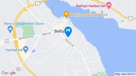 The Jeweled Turret Inn Map