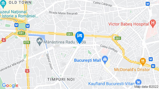 DoubleTree by Hilton Bucharest - Unirii Square Map