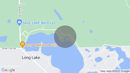 Cozy Lakefront Hale Cabin w/ Access to Boat Ramp! Map