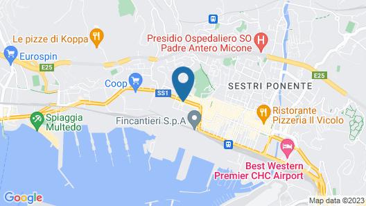 Casa MaMa Map