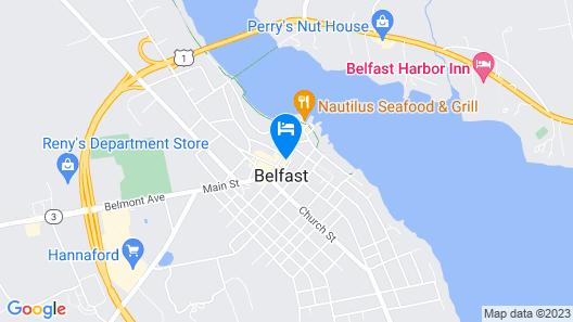 Belfast Bay Inn Map