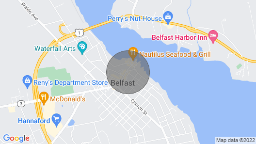 UBER CLEAN, Modern, loft. Auto check-in.   water views galore! Map