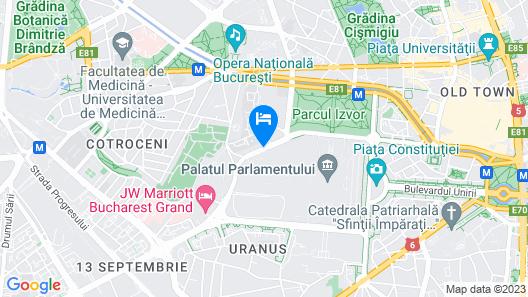 Continental Forum Bucuresti Map