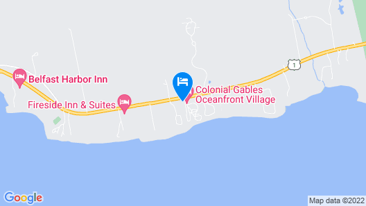 Colonial Gables Oceanfront Village Map