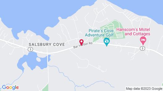Best Western Acadia Park Inn Map