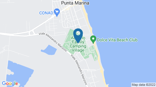 Adriano Family Camping Village Map