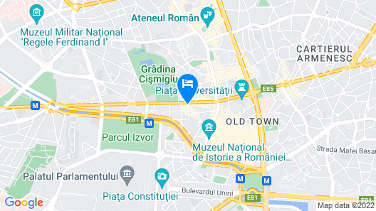 Central Hotel by ZEUS International Map