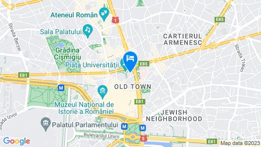 Z Executive Boutique Hotel Map