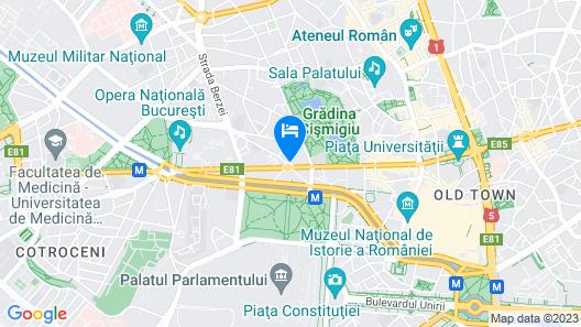 Hotel Venezia by ZEUS International Map