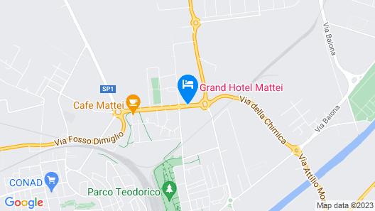 Grand Hotel Mattei Map