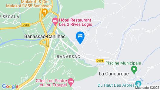 Village de Vacances de la Canourgue Map