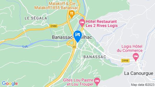 Hôtel Eco Map
