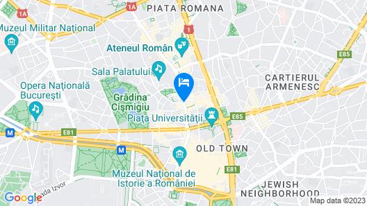 Novotel Bucharest City Centre Map