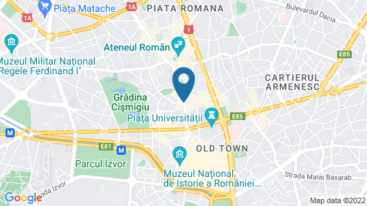 Novotel Bucharest City Centre Map